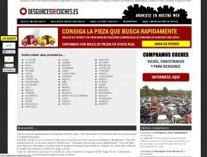 desguacesdecoches.es