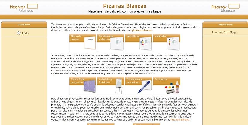 pizarras-blancas.es