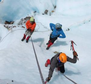 escalada glaciar